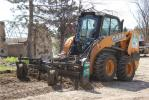 Whether clearing parking lots in winter or operating at homes in the summer, Extra Mile ranks visibility high on its considerations when looking at skid steers.
