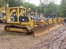 Several Komatsu D38-P and D39-P dozers went on the auction block to the highest bidder at the recent Hunyady auction held for Brian Plushanski Construction Company Inc., in Hampton, N.J.