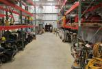 Norris Sales customers can choose from a wide variety of rental equipment at the company's new facility in Plymouth Meeting, Pa.