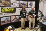 Groff Tractor New Jersey LLC (formerly Trico Equipment Services) was represented in part by Lorrie Adler, marketing coordinator, and Bob Taormina, major accounts manager.