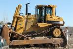 This Caterpillar D8L dozer was among the many pieces of heavy equipment that proved popular in the bidding pool.