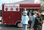 Pat's Cider Donut's, located in Manchester, N.H., provided Chappell's guests with fresh, homemade donuts.
