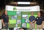 (L-R): Don Connolly, NITCO floor cleaning equipment and commercial products in Shrewsbury, Mass.; John Pepper, industrial region manager of Advance Cleaning Equipment, Plymouth, Maine; and Valentino Faraone, NITCO cleaning equipment commercial products, S