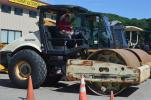 These Ingersoll-Rand soil compactors were just a few of the many pieces of compaction equipment available through the sale.