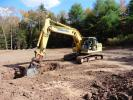 R & H Gorr Inc.'s excavating work includes site prep and clearing, foundations and pads, retaining walls, septic and drainage systems, driveways and ponds.