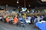 Nixon-Egli customers enjoy lunch and conversation at the 50th Anniversary Open House.