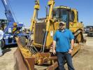 Kris Warn of Load EM Up Freight Brokers in Plano, Texas, just moved to the area and is checking out the auction scene along with this Cat D6T.