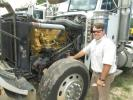 Lee Dunn of Floyd's Equipment in S. Keston, Md., may drive this Peterbuilt haul truck home.