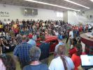 Jame G. Murphy had a packed house for the collector cars.