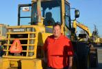 T-Rex Equipment operates out of its Long Beach, Calif., location.  T-Rex owner Joe Rexin was interested in the Komatsu WA180 loader.