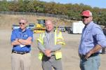 (L-R): Mike Mayo, corporate service manager, Edward Ehrbar; Tom Englehardt, field service tech, Edward Ehrbar; and Jim McMurray, vice president of C.A.C. Industries in Long Island City, N.Y., watch the demonstrations.