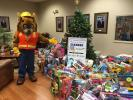 Thousands of children throughout Maine received toys as a result of this campaign.