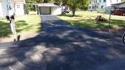 The finished driveway, thanks to Chance Contracting.