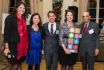Photo by Jenna Bascom.  Chelsea LeMar, PWC; Jeannie Kwon, Justin Schultz, Eve Michel, Melvin Glickman, MTA Capital Construction