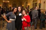 Photo by Jenna Bascom.  Karen Padavatton, Mamais Construction; Rachel Kreindel, Bala Engineering; Bonnie Pfleiderer, Outsource Consultants