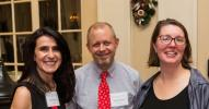 Photo by Jenna Bascom.  Maria Wilpon, James Nelson, Anne Marie Edden, Stantec