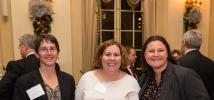 Photo by Jenna Bascom.  Valerie Lalor, Jennifer Murphy, Erica Mandel, Siemens Industry, Inc.
