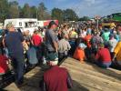 The sale included a wide assortment of shop, welding equipment and trailers that captured the attention of many bidders.