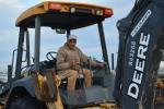 GS Chocker of Bekka Construction of Sacramento put the John Deere 310 J