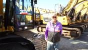 Ray Delange came all the way from Canada looking for a good deal on an excavator.