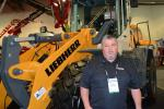 George Thompson, Liebherr's regional business manager of the western United States, remarked that Liebherr Construction Equipment's booth was very busy throughout the event.