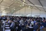 With thousands of bidders in attendance and more than 100,000 bidders online, sellers had a world