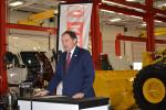 Utah Gov. Gary Herbert emphasizes the partnership of industry, education and government in making Diesel Tech possible.