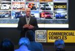 John Ruppert, general manager of commercial vehicle sales and marketing of Ford, discusses the all-new Ford F-Series super duty.