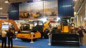Hyundai displayed a diverse selection of equipment at the show.
