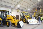 More than 15 pieces of heavy equipment and a broad range of products from manufacturers including JCB, Rayco, Avant and Toro were on display.