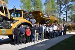 On Wednesday, April 6, approximately 25 students from the automotive program at Broughton High School and the Diesel Tech program at Wilkes Community College visited ASC Construction Equipment USA.