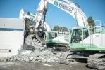 FERMA's fleet of Volvo EC350EL excavators are modified to match jobsite requirements.