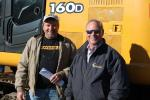 Dan McHugh (L) of Brookside Equipment Sales, Philipston, Mass., and Dan Wilcox, owner of Wilcox Tractor in North Carolina, are loyal participants of the Petrowsky sales.