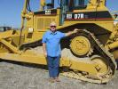 Don Bohn, president of Converter Renewal Co. (CRC) in McGregor, Texas, is interested in bidding on this Cat D7R XL dozer.