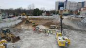 """Multivista photo """"Many components are needed to have a successful project of this nature,"""" said Charles Liptok, Yates Construction superintendent of Village 21."""