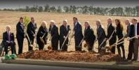 In early March 2016, Opelika Mayor Gary Fuller, Golden State Foods Corp chairman, and CEO Mark Wetterau and other officials broke ground on the $63 million, 165,000 sq. ft. (15,329 sq m) facility, which will be located in the Northeast Opelika Industrial Park.