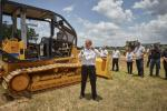 """""""The new S-Series dozers represent a real reinvigoration of the Dressta brand in North America,"""" said Marcus Menough, director of sales and marketing for LiuGong N.A."""