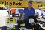 David Douglas of the H.O. Penn parts department reminded visitors that every machine has two things in common … batteries and operator seats, and H.O. Penn has plenty of both.