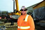 Kyle Cummings, crane operator, Bennett Steel.