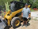 Casey Jones of Bottom Line Equipment LLC in Sulphur, La., is interested in this nearly new Cat 262D skid steer.