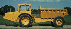 Volvo first marketed this four-wheel-drive articulated hauler in 1966 as a DR 631.
