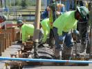Solvay Chemicals photo The Longview office of JH Kelly was awarded a significant portion of the Solvay plant construction. Completing the project will require an estimated 43,000 man hours.