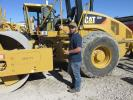 Adam Jackson, an independent contractor in Anna, Texas, is interested in this Cat CS56 roller.
