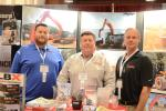 Jersey Rents & Equipment Sales of Bayville, N.J., is a diversified distributor of construction equipment, materials and supplies. (L-R) are Robert Mennona III, assistant manager; Rob Mennona, owner; and Jim Szymczyk, branch manager.