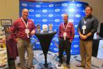 Harter Equipment of Millstone Township, N.J., a longtime exhibitor at the UTCA show, was represented (L-R) by Vice President of Sales Victor Rega and Dick Clark and Matthew Sams, both equipment sales specialists.