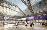 SOM photo. The transformational redesign also includes upgrading the two subway stations at Penn Station. Many of these improvements to subway stations on Seventh and Eighth Avenues are expected as early as 2018.