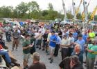 The J.J. Kane auction in Verona, Ky., drew a large crowd of on site bidders