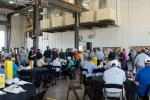 Nearly 400 customers and community members attended the grand opening event at RDO Equipment's newest facility in Chandler, Ariz.