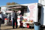 Angelino's Sausage House, located on 11 Westside Drive in Exeter, N.H., was at the sale all day with its food truck serving its well-known burgers and steak sandwiches.