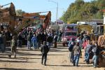 More than 250 ground bidders poured in to see what kind of good deals they could score on heavy equipment at the North Country/E.W. Sleeper liquidation sale.